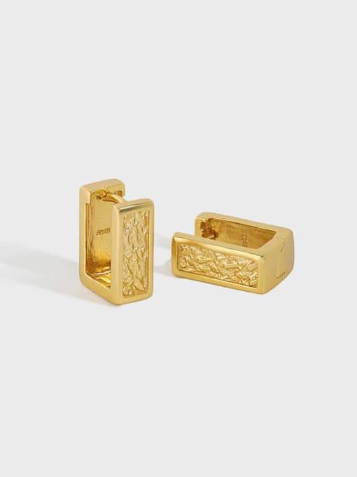 DAKA 925 Sterling Silver Geometric Minimalist Stud Earring