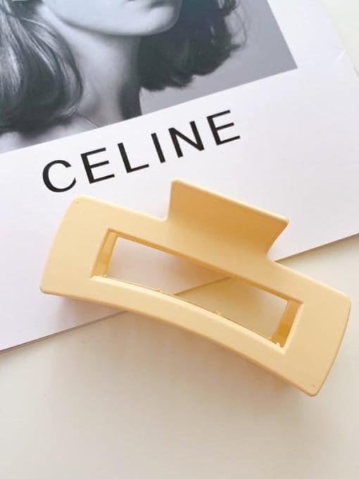 Chimera Alloy Resin  Minimalist Geometric Jaw Hair Claw 2