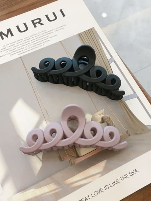 Chimera Cellulose Acetate Minimalist Geometric Jaw Hair Claw 3