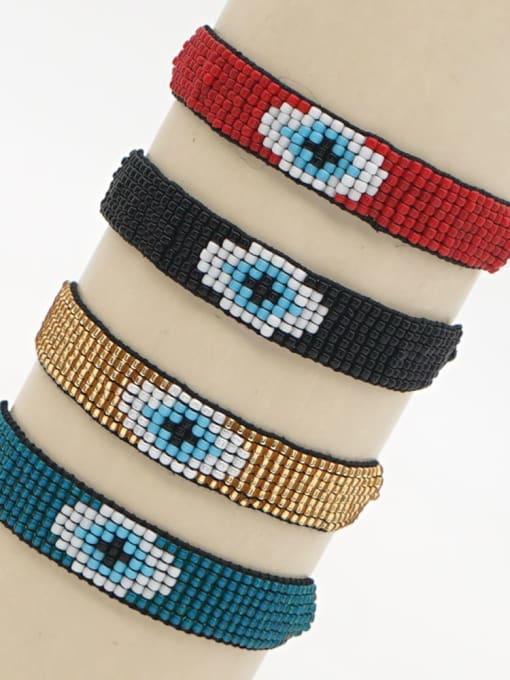 Roxi Stainless steel MGB Bead Geometric Bohemia Adjustable Bracelet 3