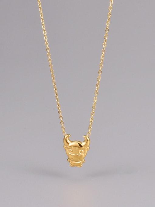 A TEEM Titanium Steel Zodiac Minimalist Necklace