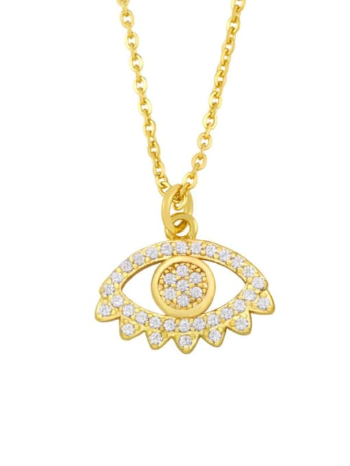 C Brass Cubic Zirconia Star Vintage Necklace