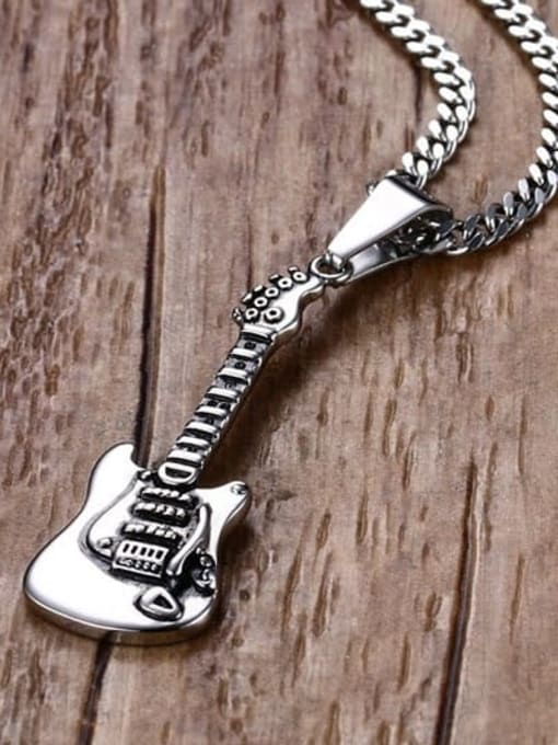 CONG Stainless steel Irregular Vintage Necklace 3