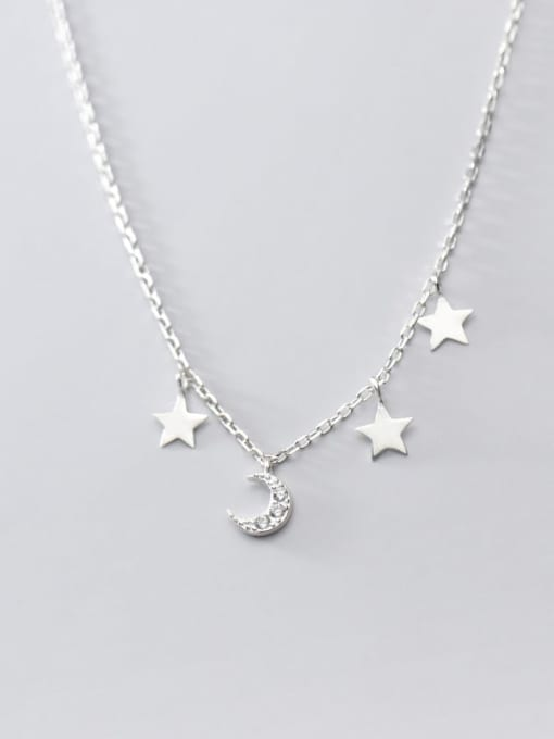 Rosh 925 Sterling Silver Star Minimalist Necklace 3