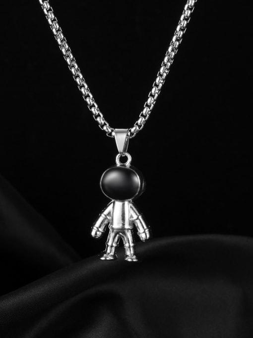 Open Sky Alloy Glass Stone Irregular Vintage Necklace