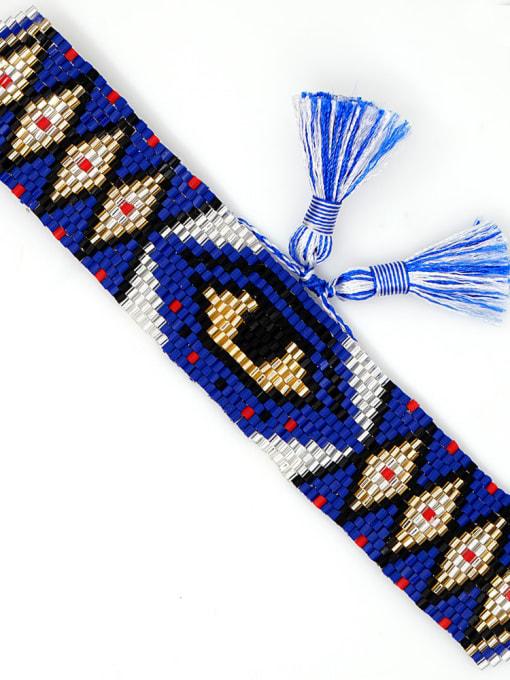 Roxi Multi Color MGB Bead Geometric Bohemia Adjustable Bracelet 3