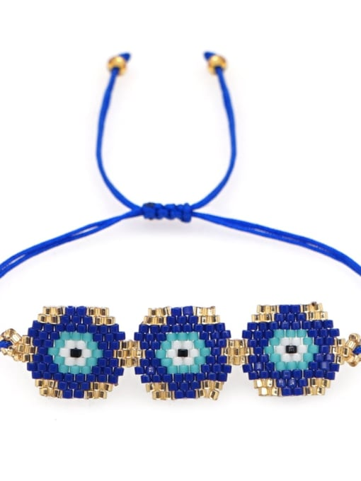 Roxi Multi Color Miyuki DB  Bead Geometric Bohemia Adjustable Bracelet 2