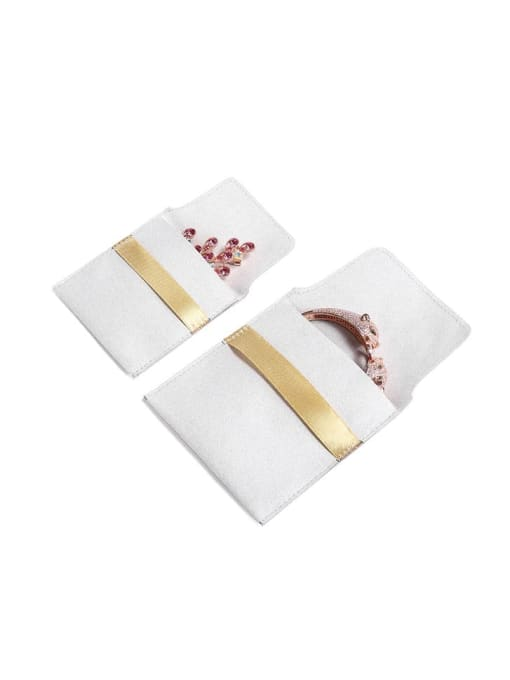 TM Microfiber Velvet Pouches Bag For Earrings,Rings,Necklaces,Bracelets And Brooches 1