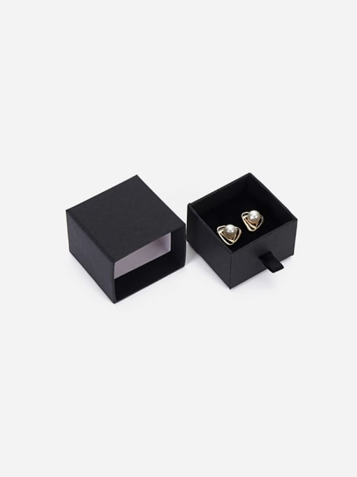 TM Eco-Friendly Paper Pull Out Jewelry Box For Rings, Small Earrings 3