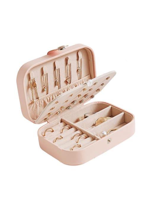 TM 3 layers PU Leather Jewelry Storage Box 0