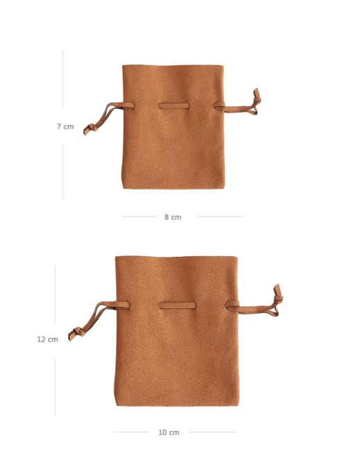 TM Microfiber Flannel Beam Port Velvet Pouches Bag For Earrings,Rings,Necklaces,Bracelets And Brooches 2