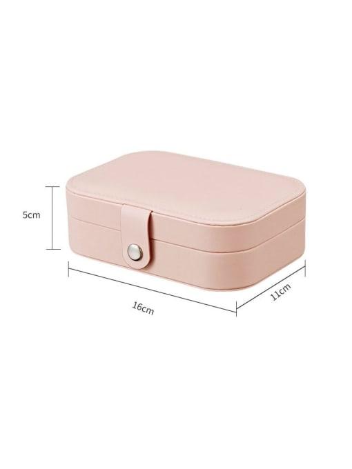 TM 3 layers PU Leather Jewelry Storage Box 1