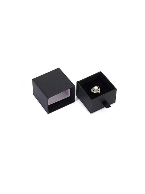 TM Eco-Friendly Paper Pull Out Jewelry Box For Rings, Small Earrings 0