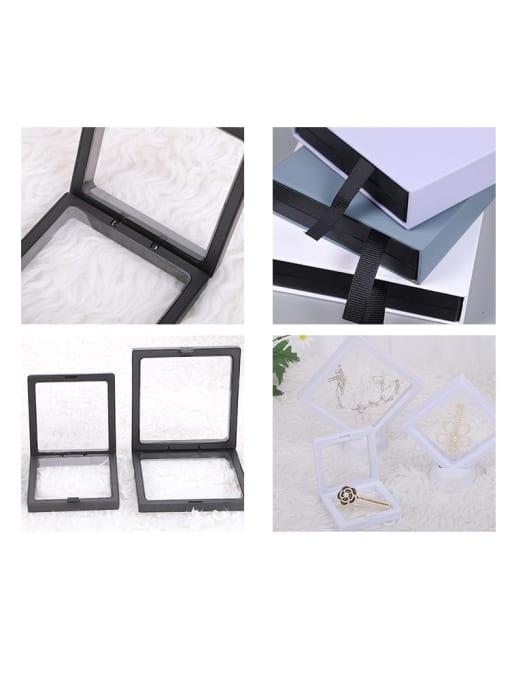 TM Dustproof Suspension Case Transparent Jewelry Box 3