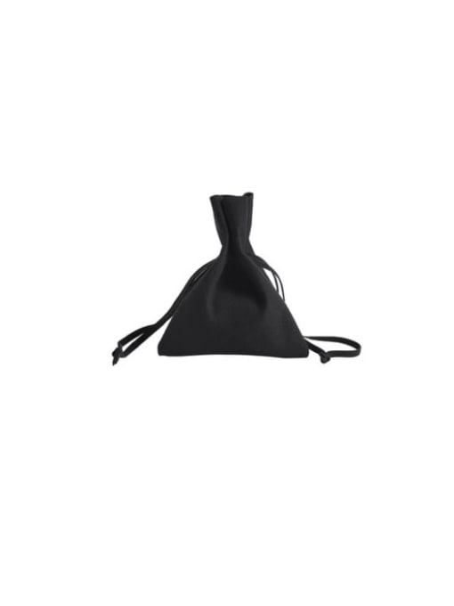 Black Microfiber Flannel Beam Port Velvet Pouches Bag For Earrings,Rings,Necklaces,Bracelets And Brooches