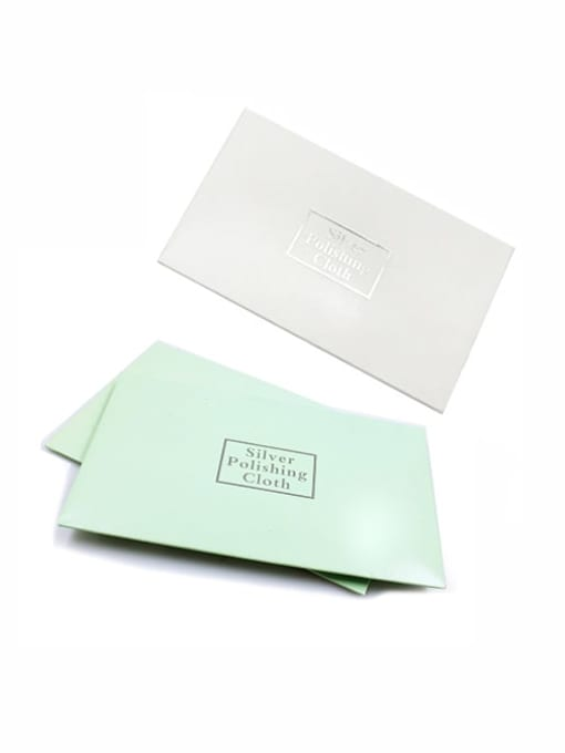 TM Gold and Silver Jewelry Cleaning Polishing Cloth
