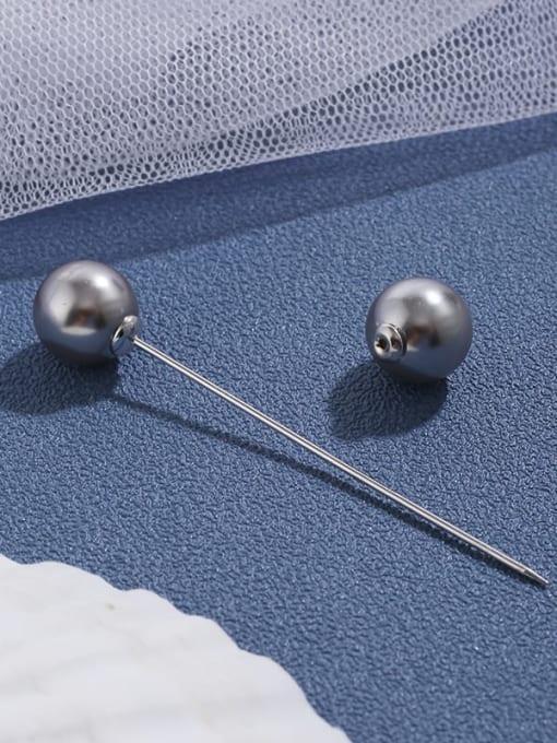Lin Liang Simple light proof Brooch fashion pearl brooch atmosphere elegant coat cardigan coat accessories 0