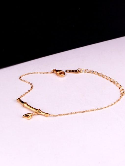 K.Love Titanium Steel Geometric Minimalist Adjustable Bracelet 1