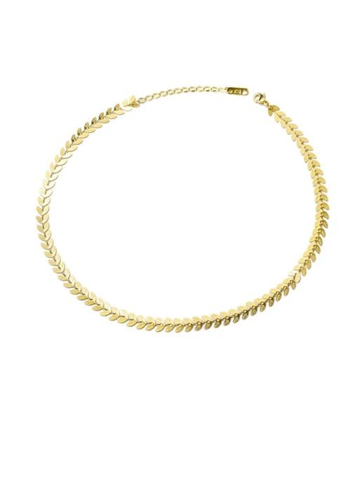 MAKA Titanium Steel Imitation Pearl Vintage Irregular Earring and Necklace Set 0