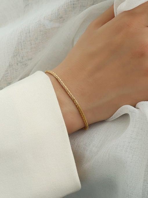 star  gold bracelet 14 +5cm Titanium Steel Minimalist Irregular  Bangle and Necklace Set