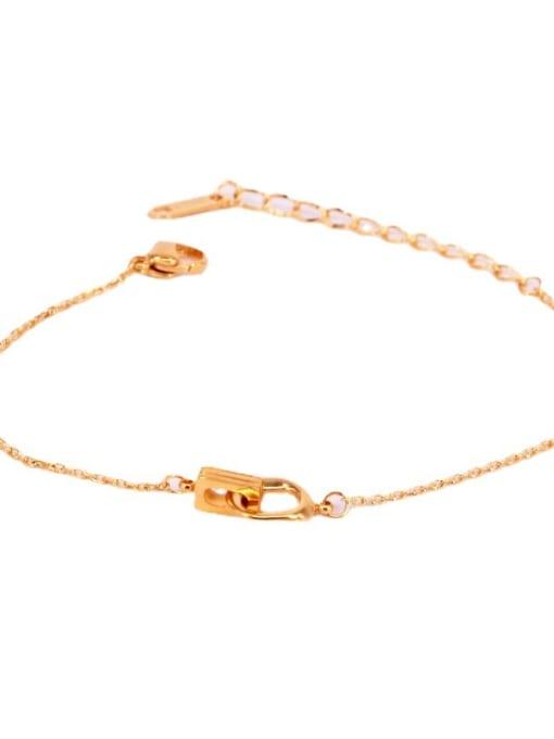 K.Love Titanium Steel Geometric Vintage Bracelet 2