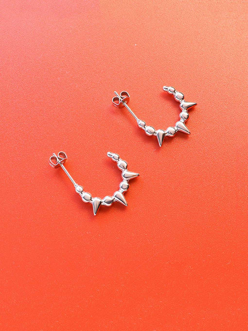 Steel Titanium Steel Geometric Minimalist Stud Earring