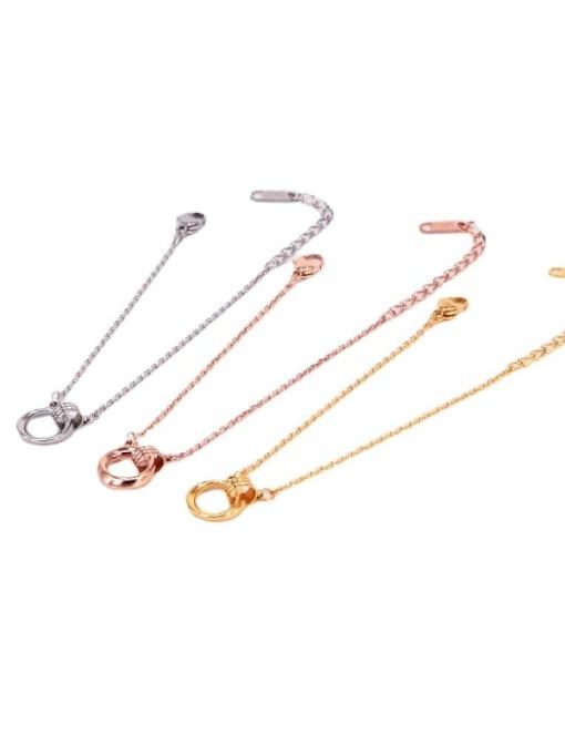 K.Love Titanium Steel Hollow Irregular Vintage Bracelet 0