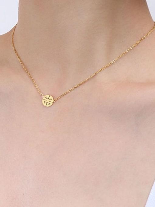 MAKA Titanium Steel  Minimalist Irregular Earring Bracelet and Necklace Set 2