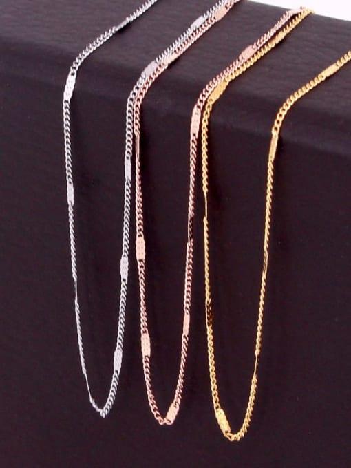 K.Love Titanium Steel Geometric Minimalist Cable Chain 1