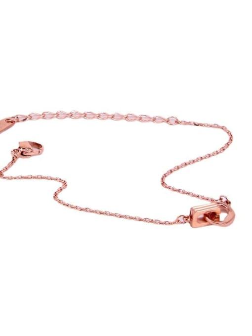 K.Love Titanium Steel Geometric Vintage Bracelet 1