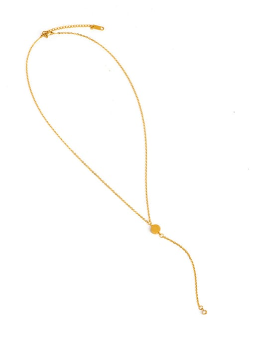 YAYACH Simple Y-shaped exquisite thin short chain 1