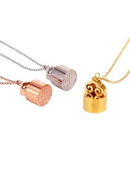 K.Love Titanium Steel Geometric Minimalist Necklace 0