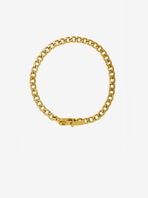 MAKA Titanium Steel Hollow Geometric Vintage Choker Necklace
