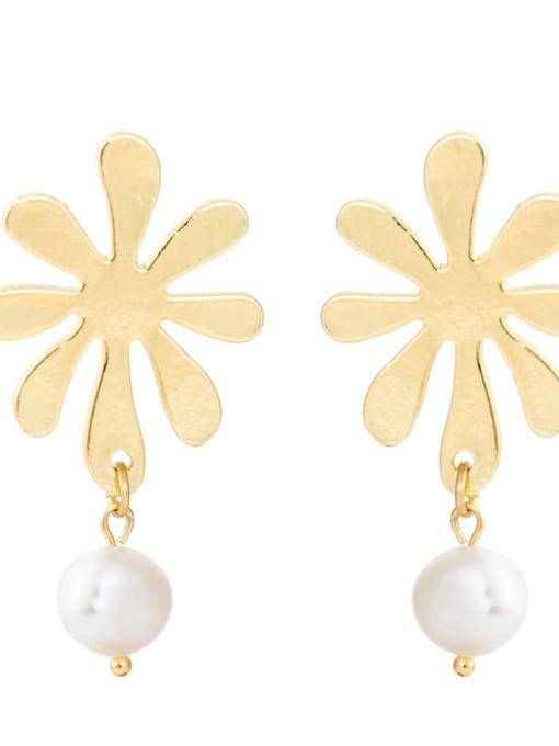 YAYACH Natural freshwater pearl earrings 2