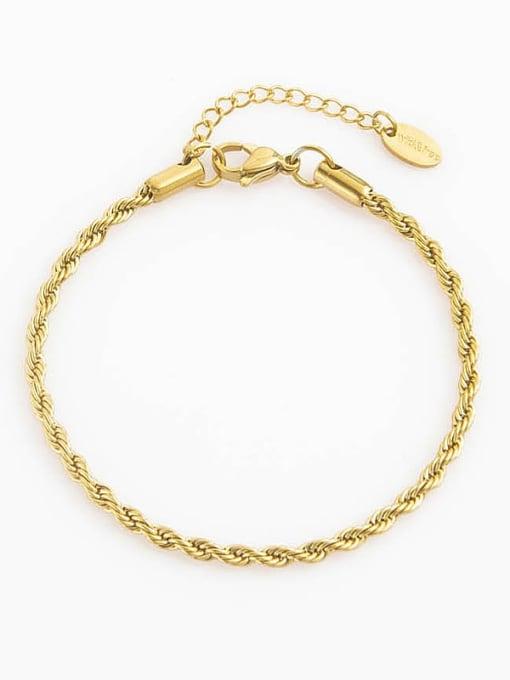YAYACH Twist chain stainless steel bracelet 1