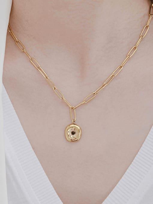 YAYACH Niche design pendant vintage necklace 1