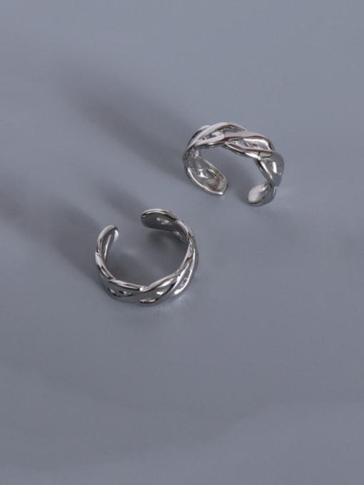 steel Titanium Steel Geometric Vintage Band Ring