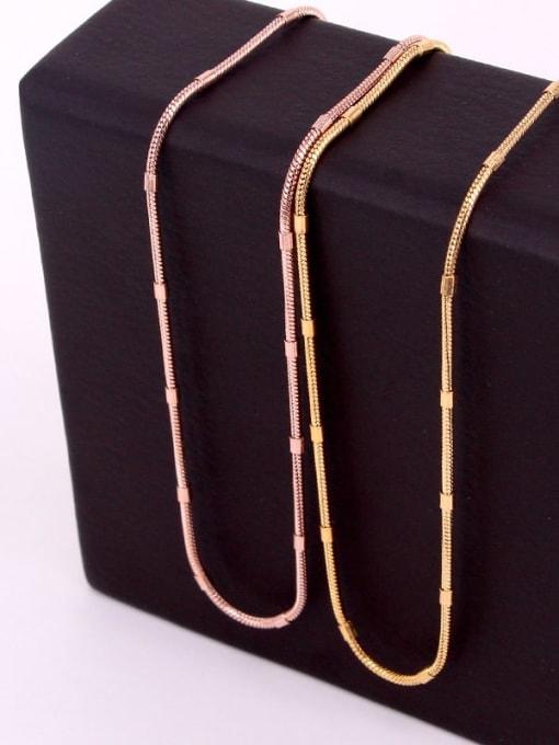 K.Love Titanium Steel  Minimalist Snake Chain 4