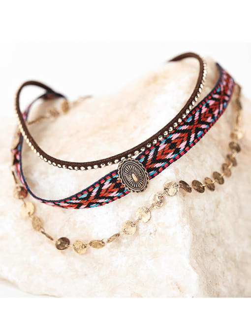 YAYACH Bohemian vintage personality clavicle necklace 0