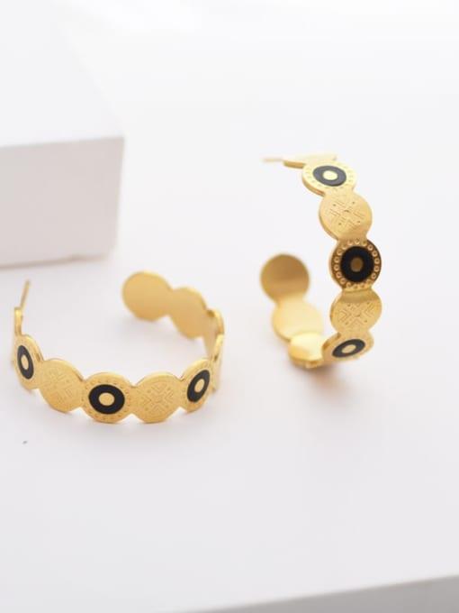 YAYACH Personalized Diamond Fashion geometric ear ring 1