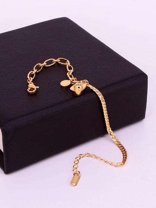K.Love Titanium Steel Geometric Hip Hop Adjustable Bracelet 3