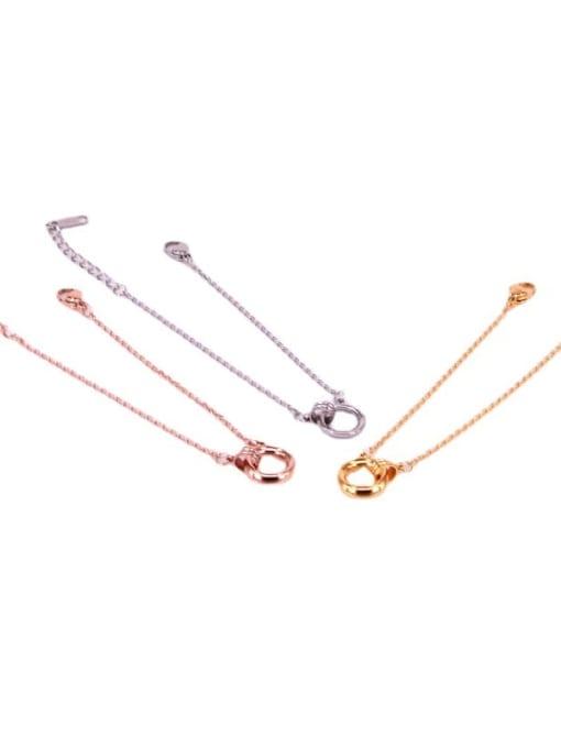 K.Love Titanium Steel Hollow Irregular Vintage Bracelet 1