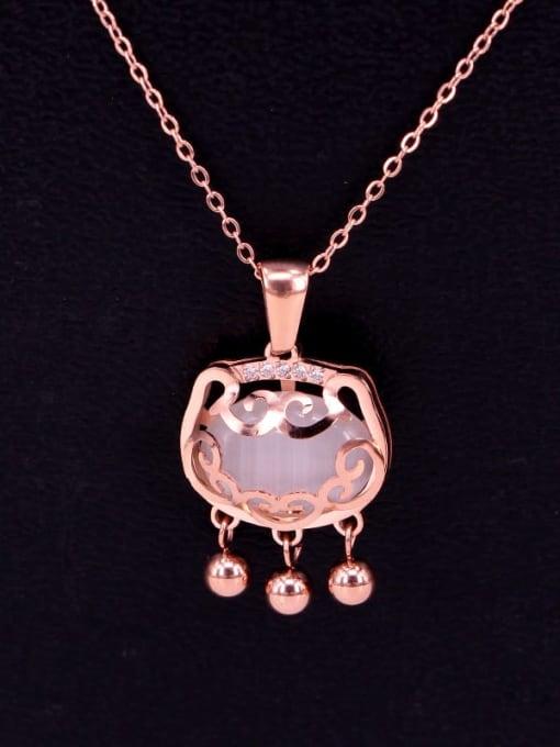 K.Love Titanium Steel Locket Minimalist Necklace 1