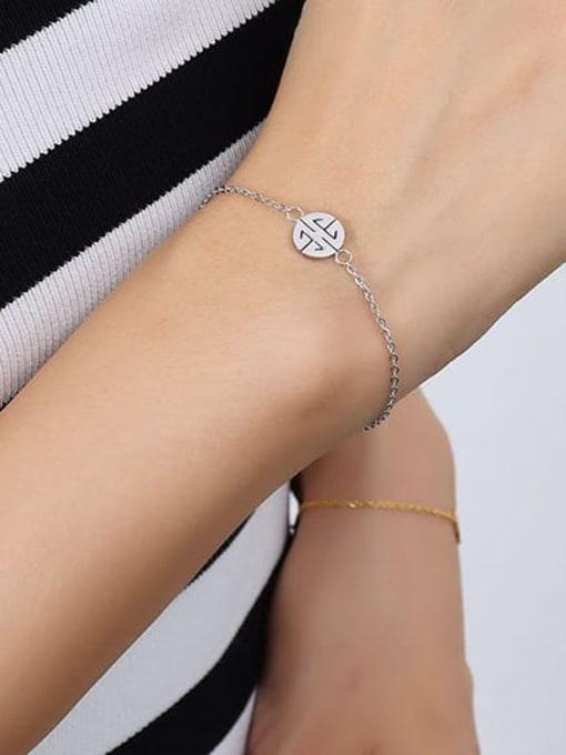 E065 steel jewelry buckle 15+ 3cm Titanium Steel  Minimalist Irregular Earring Bracelet and Necklace Set