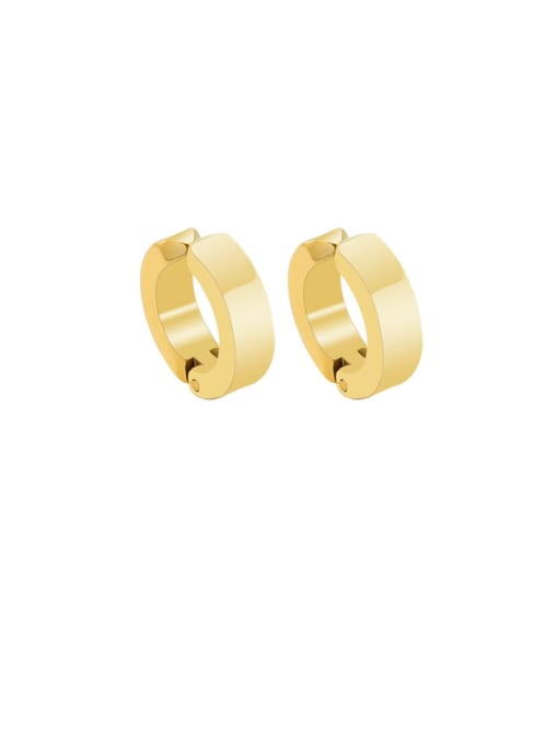 MAKA Titanium Steel Geometric Minimalist Clip Earring