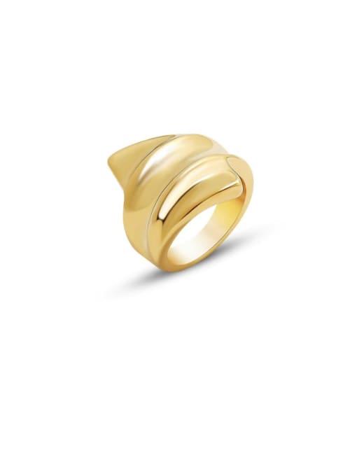 MAKA Titanium Steel Irregular Artisan Band Ring