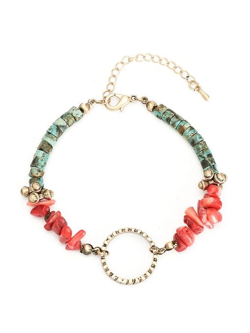 YAYACH Vintage natural stone Handmade Bracelet