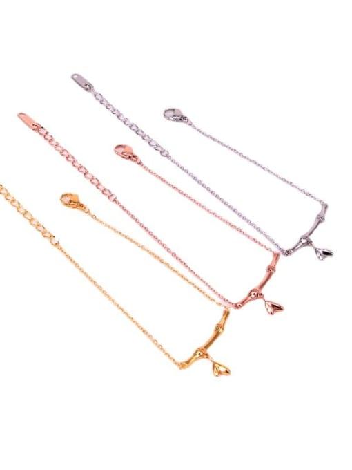 K.Love Titanium Steel Geometric Minimalist Adjustable Bracelet 3