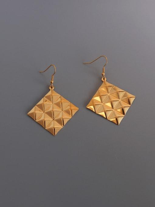 MAKA Titanium Steel Geometric Minimalist Hook Earring 2