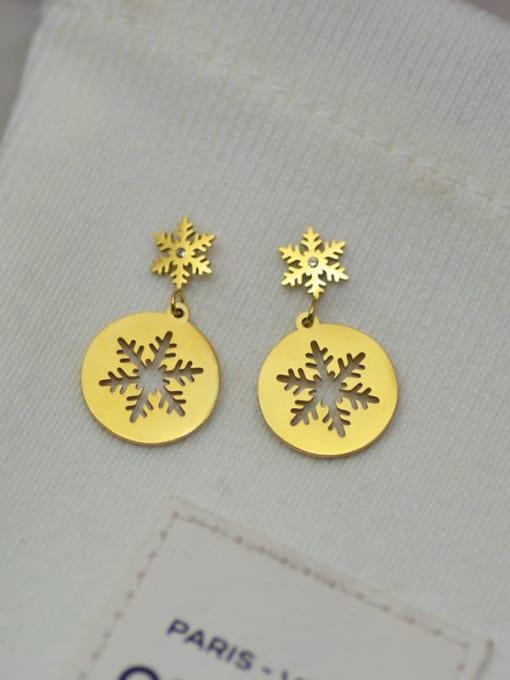 YAYACH Awn star snowflake music key Earrings 1